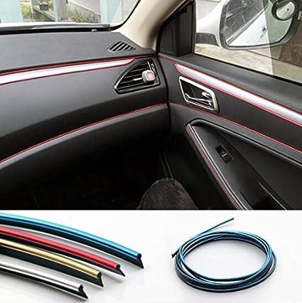 Car Decorative filler Decoration strip Interior Moulding Styling DIY ...