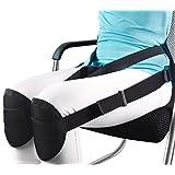 Homeweeks Black Adjustable Waist protection Back Support Belt By Correcting Sitting Posture