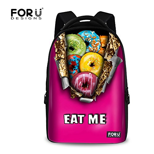 DESIGNS Chocolate Donuts Casual Backpack product image