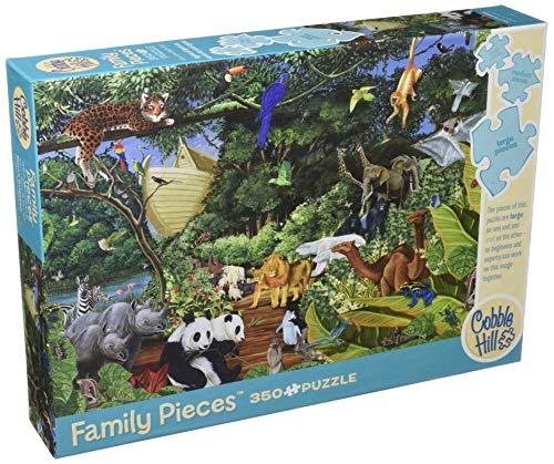 Cobblehill 54613 Multi 350 Noah's Gathering Puzzle, Various