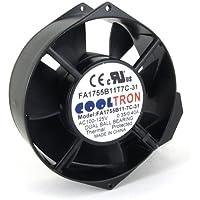 115V AC Cooling Fan. 172mm x 150mm x 55mm HS