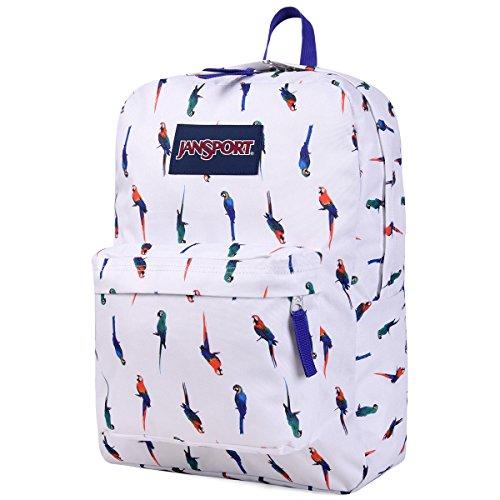 JanSport Superbreak Backpack Macaws