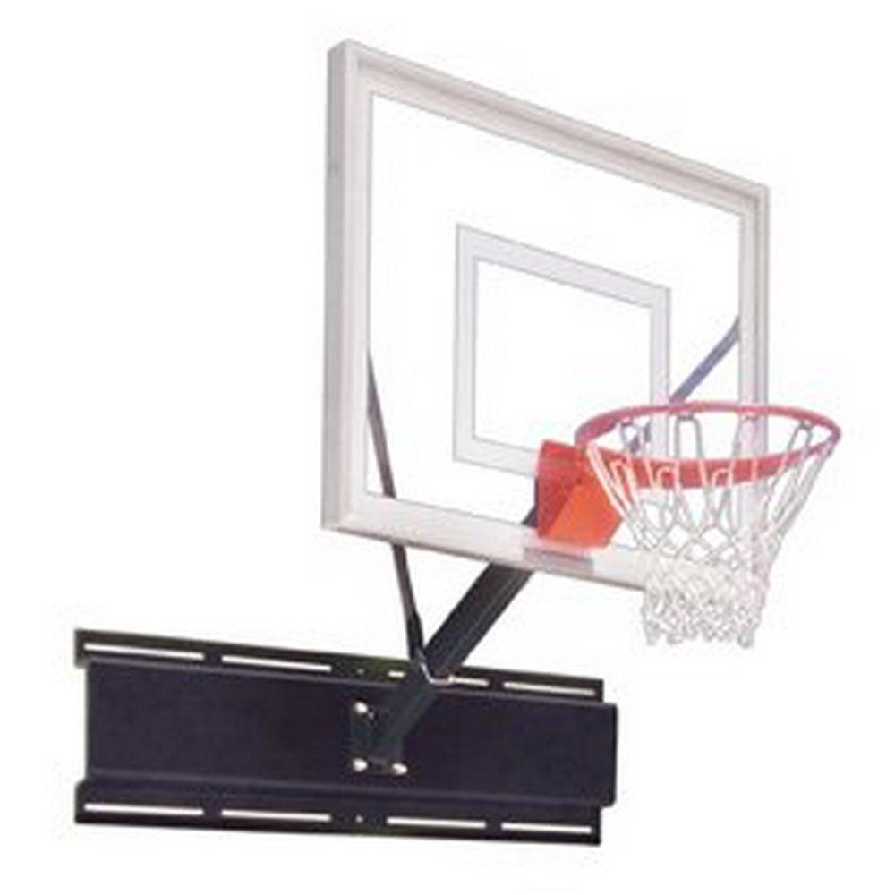 最初チームUnisport III steel-acrylic壁マウントバスケットボールsystem44 ;ロイヤルブルー B01HC0C92C