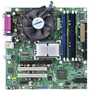 Intel D945GTP Intel 945G Socket 775 micro-ATX Motherboard Kit w/Pentium 4 651 3.4GHz, 1GB DDR2 RAM, Heat Sink & Fan! (4 Hyper Threading Pentium)