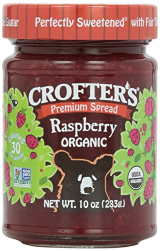Crofters Strawberry - Crofter's, Organic Raspberry Conserve, 10 oz