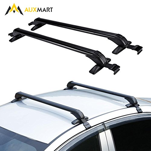 Auxmart Universal Roof Rack Cross Bars With Anti Theft