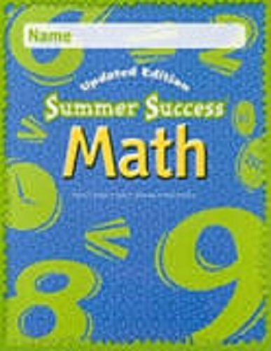 Great Source Summer Success Math: CD-ROM Grade 7 2008 by GREAT SOURCE