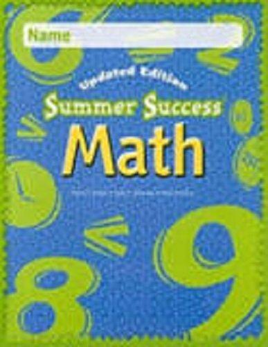 Great Source Summer Success Math: CD-ROM Grade 7 2008