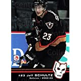 Jeff Schultz Hockey Card 2002-03 Calgary Hitmen #21 Jeff Schultz