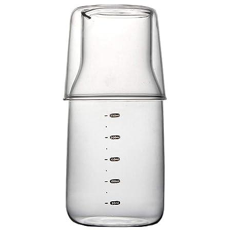 Compra AOLVO - Vaso medidor de Cristal Transparente con balanza ...