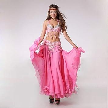 KLMWDDPWY Danza del Vientre Mujer Traje para Danza del ...