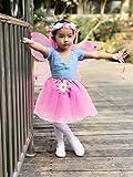 Fedio 4Pcs Girls Princess Fairy Costume Set with