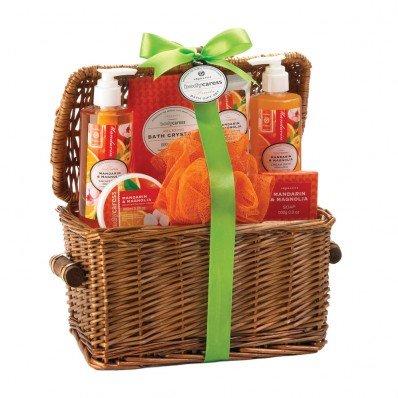 Mandarin and Magnolia Spa Basket Set (Party Basket)