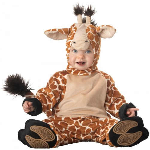 amazoncom baby giraffe costume size infant 12 months clothing