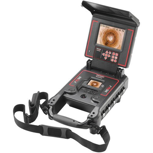 Ridgid 33198 5.7-inch SeeSnake LCD DVD Pak Monitor with Battery and Charger