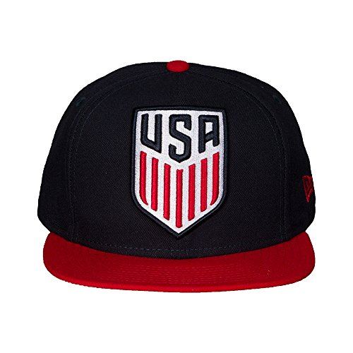 USA Soccer Shield Grand Redux New Era Adjustable Snapback Baseball Style Cap (Shield New Era)