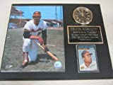 Orioles Frank Robinson Collectors Clock Plaque w/8x10 Photo and Card