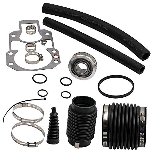 Mercruiser Replaces Part - RPS Alpha One Gen 1 and 'pre-Alpha' Rebuilt kit (1972-1990) with Gimbal Bearing, Exhaust, u-Joint, Shift Bellows, Gasket, Water Hose. Replaces Mercury Mercruiser Marine 30-803097T1