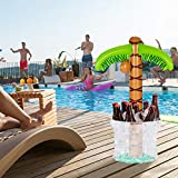 "MorTime Inflatable Palm Tree Cooler, 63"" Palm"