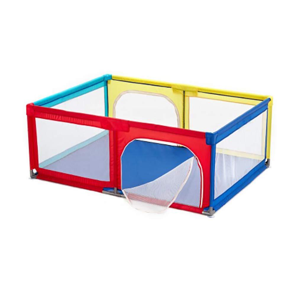 ベビープレイフェンス子供の遊び場屋内ベビーベッド幼児保護フェンス家庭、150×180×68cm (色 : Playpen)  Playpen B07JVTMZJJ