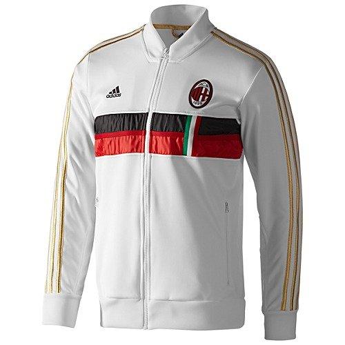 ADIDAS AC Milan Anthem Jacket [WHITE/ACMREDHOM/BLACK] (XL)