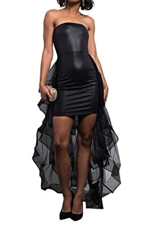 Sheer Tulle Dress