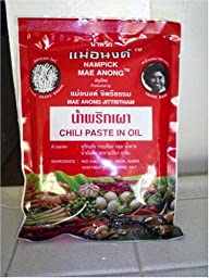 Nam Prik Pao Thai Chili Paste in Oil 16 Oz.