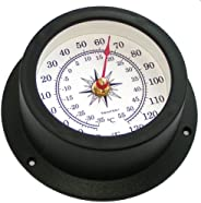 Trintec Nautical Marine Vector Collection Thermometer (White Dial) VEC-W-03