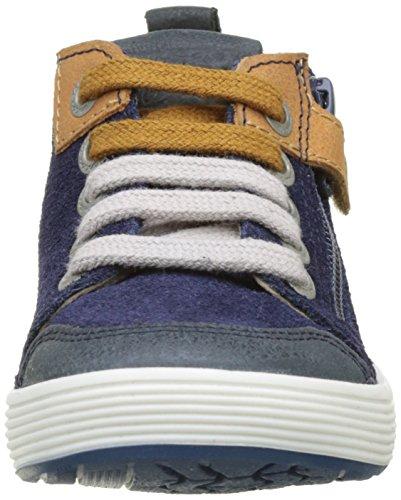 Aster Rojac, Zapatillas Altas para Niños Azul (Bleu Encre)