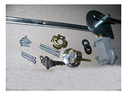 Garage Door Lock Set 1 Car Door Extension Spring (Best Garage Door Lock)