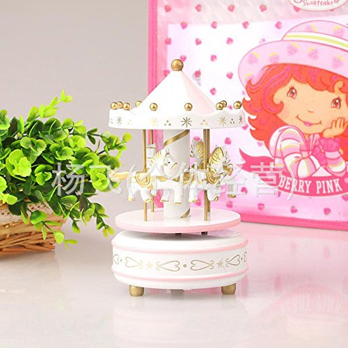 new-gold-1pc-wooden-plastic-merry-go-round-carousel-music-box-christmas-birthday-gift-toy-set43