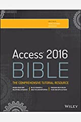 Access 2016 Bible Kindle Edition