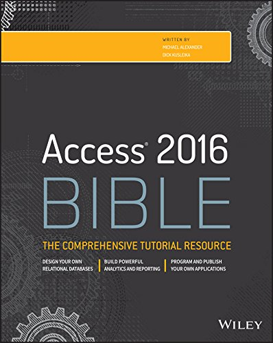 Access 2016 Bible cover