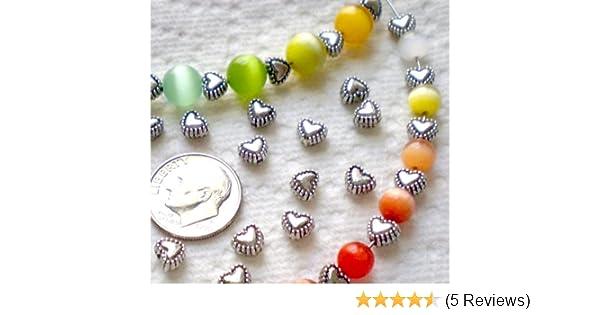 Free Ship 100Pcs Tibetan Silver Spacer Beads 7x4mm