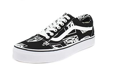 f8119b98c1 Vans Unisex Lego Mix Old Skool Black True White Sneaker - 7
