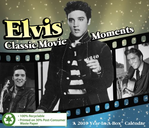 Elvis 2010 Year In A Box - Calendar 2010 Elvis