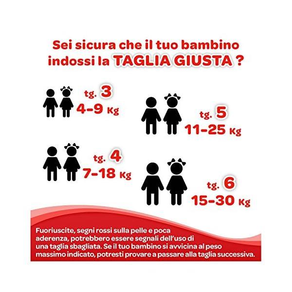 HUGGIES Pannolini Ultra Comfort, Taglia 3 (4-9 Kg), Confezione da 168 Pannolini (3 x 56) 5