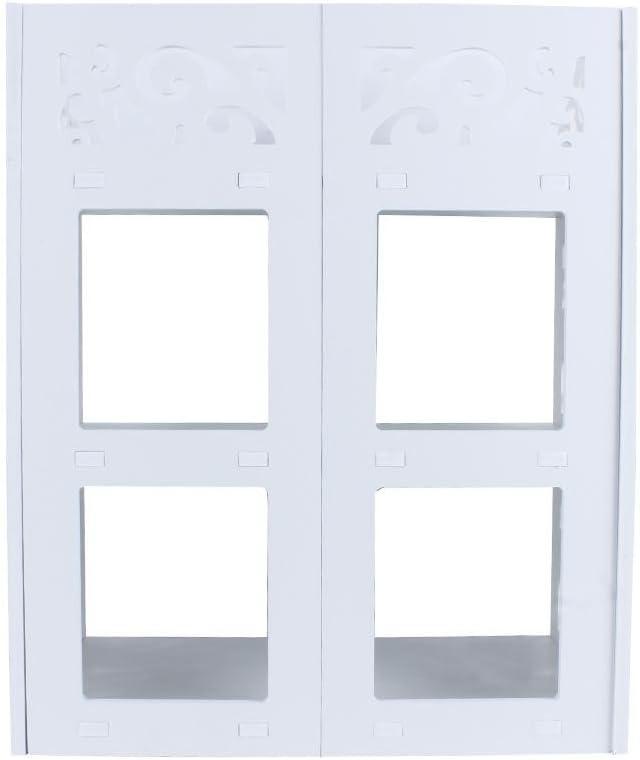 Ejoyous 40 x 23 x 51 cm Organizador para Pasillo Zapatero vest/íbulo Zapatero de 3 Niveles sal/ón Estante para Zapatos ba/ño