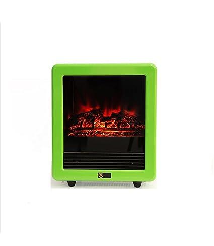 Mini Calentador Creativo Escritorio En El Hogar Ambiental Pequeño Calentador Simulación De Incendio Mute Mini Calentador