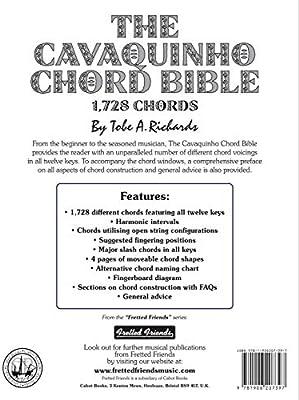 The Cavaquinho Chord Bible: DGBD Standard Tuning 1,728 Chords ...