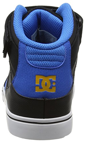 DC Shoes Jungen Spartan High EV Sneaker Schwarz (black/blue/grey)