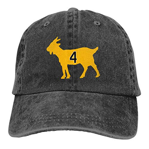 Moore Me Adjustable Baseball Cap Boston Orr Goat Cool Snapback Hats Black ()