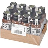 SToK Mocha Cold Brew Iced Coffee, 13.7 Fluid Ounce - 12 per case.