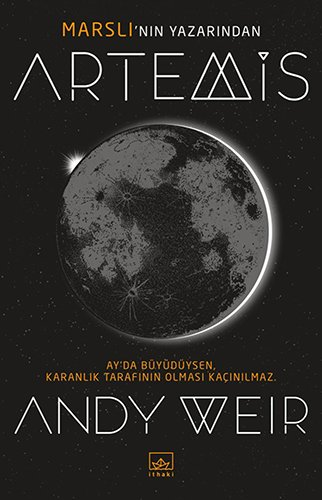 Audiobook cover from Artemis by Andy Weir