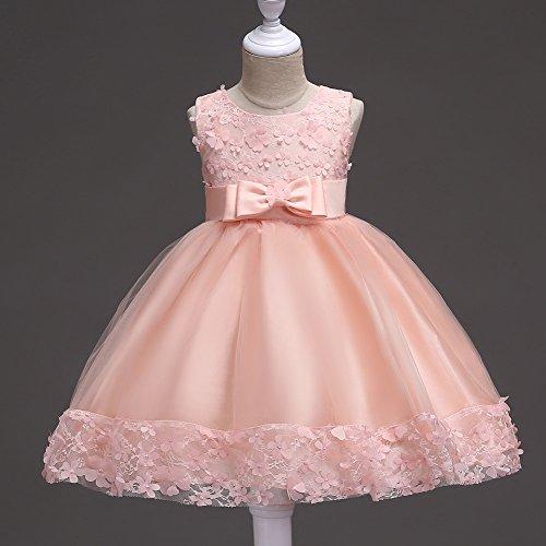 Pink De Encaje Niños XIU Vestidos RONG Y Para Trajes qnqB7Z8p