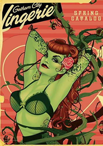MightyPrint DC Comics Justice League (Bombshell Poison Ivy) Wall Art Next Generation Premium Print