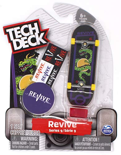 Tech Deck Revive Skateboards Rare Series 9 Arcade Pro Aaron Kyro Dragon Fingerboard