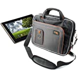 Water And Impact Resistant Shoulder Bag With Multiple Compartments For Asus EeePad Transformer TF101G & TF101