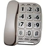Complete Medical Large Button Telephone with Speaker Phone and Voice Amp, 1 Pound