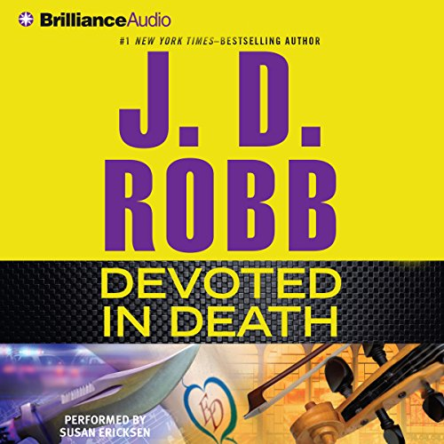 Devoted in Death: In Death, Book 41 Audiobook [Free Download by Trial] thumbnail